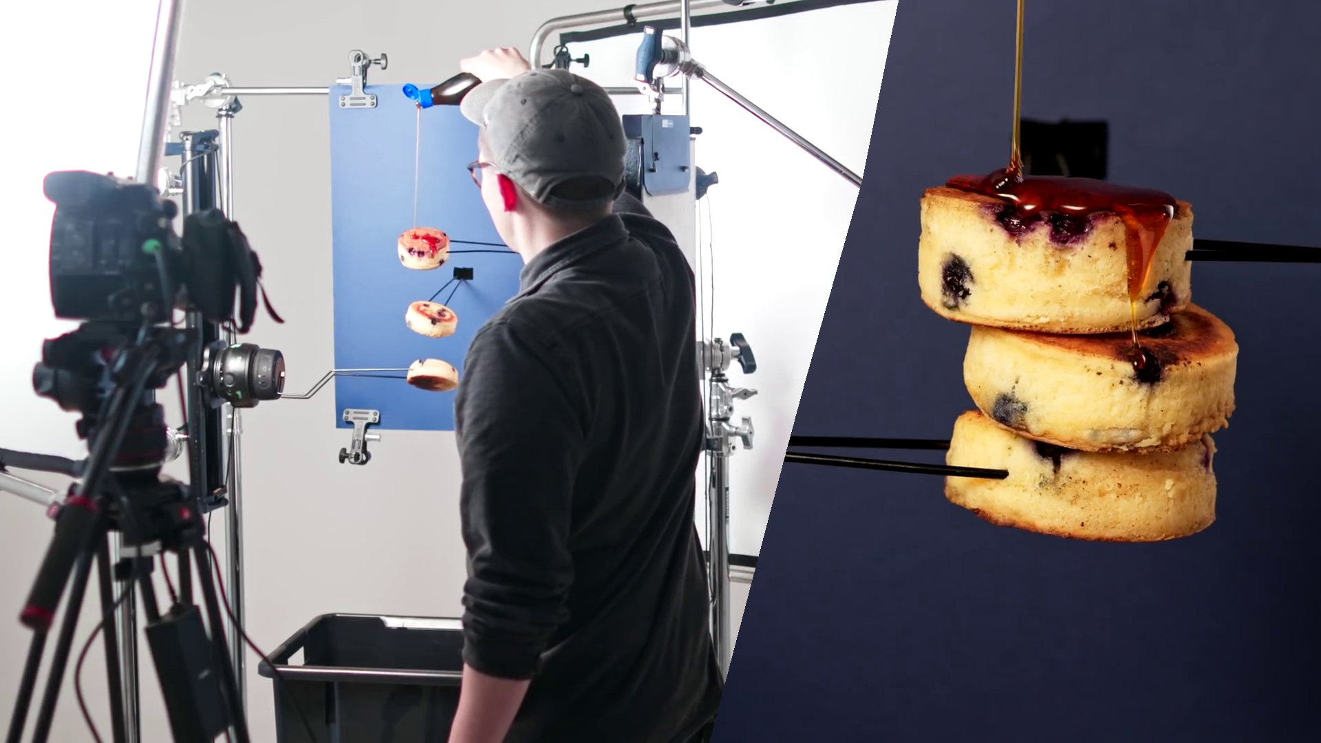 Tips para filmar publicidades de comida con los equipos de control de movimiento de Syrp