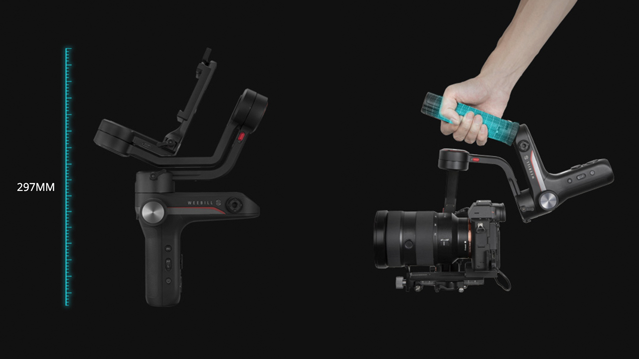 Zhiyun Weebill-S Compact Gimbal for Mirrorless and DSLR Cameras Announced