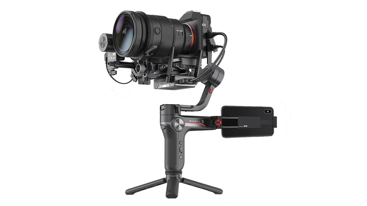 Anuncian el Zhiyun Weebill-S -  Un gimbal compacto para cámaras mirrorless y DSLR