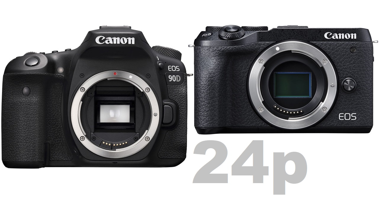 Canon 23.98p Firmware Update Now Available for EOS RP and EOS 90D