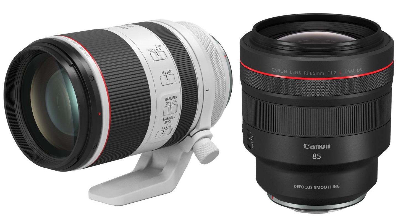 Nuevos lentes Canon RF - RF 70-200 mm f/2.8L IS USM y 85 mm f/1.2L USM DS