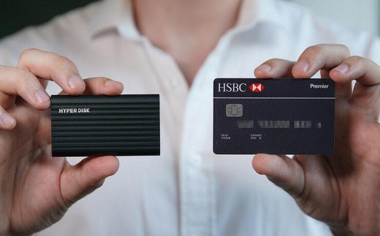 HyperDisk Kickstarter  - Affordable 1,000MB/s Pocket-sized SSD Drive