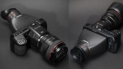 Kinotehnik LCDVF BM5 - New Viewfinder for Blackmagic Pocket Cinema Camera 4K and 6K
