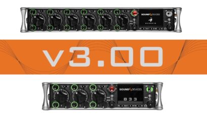 Sound Devices Scorpio and 833 V3.00 Update Released - MixAssist and CL-12