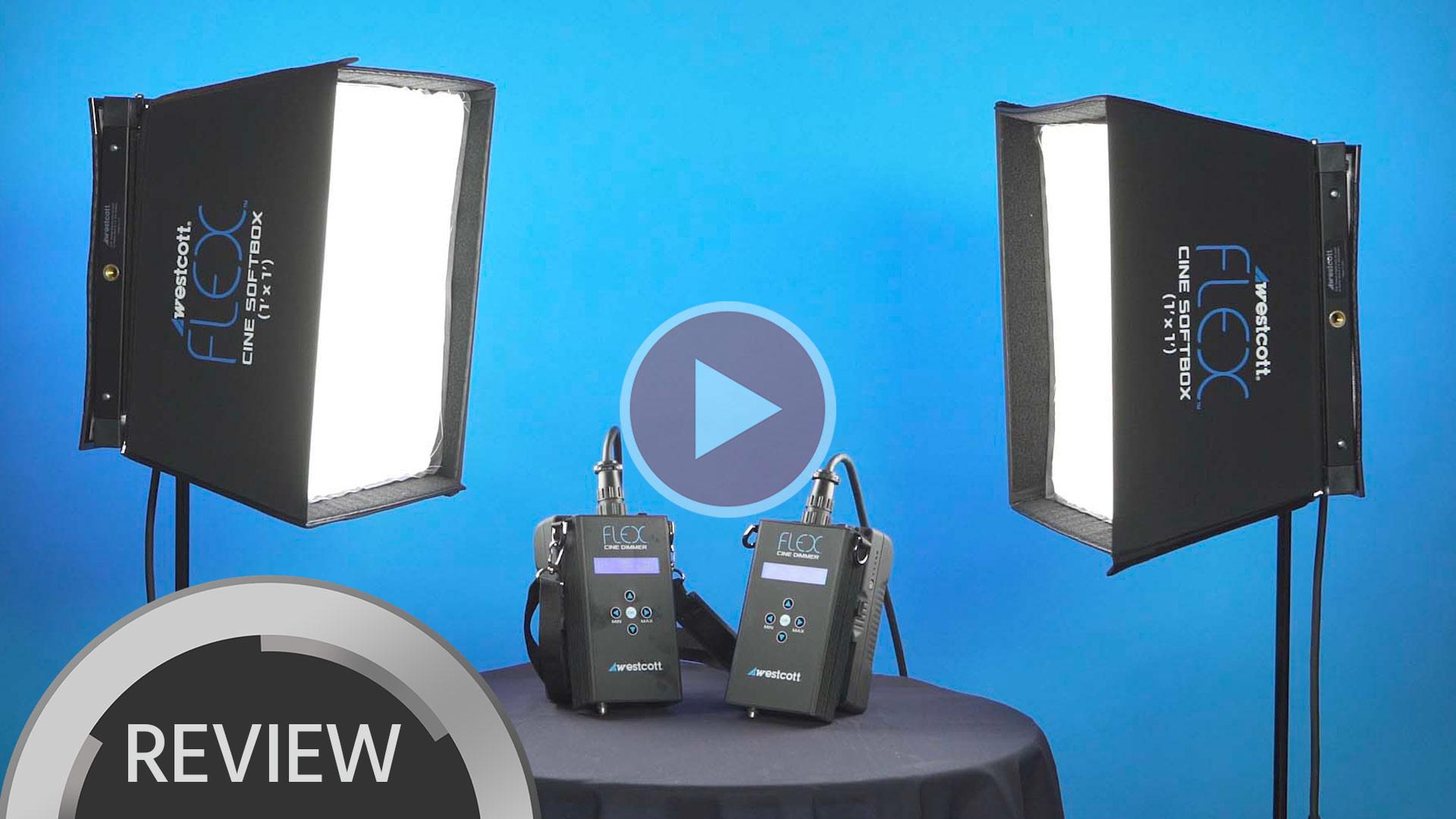Westcott Flex Cine Travel LED Lighting Kit Video Review & Demo | cinema5D