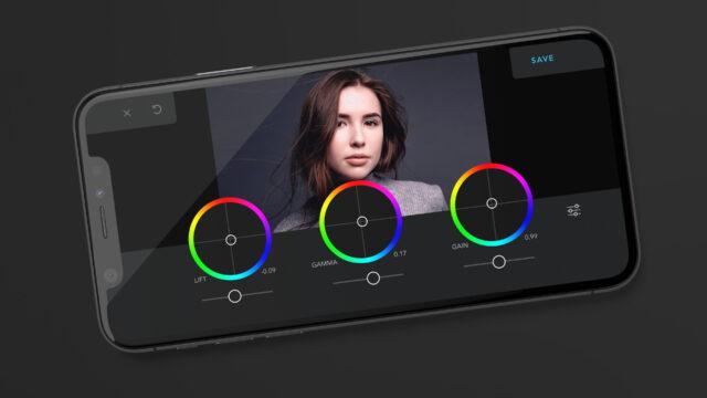 cadrage app color