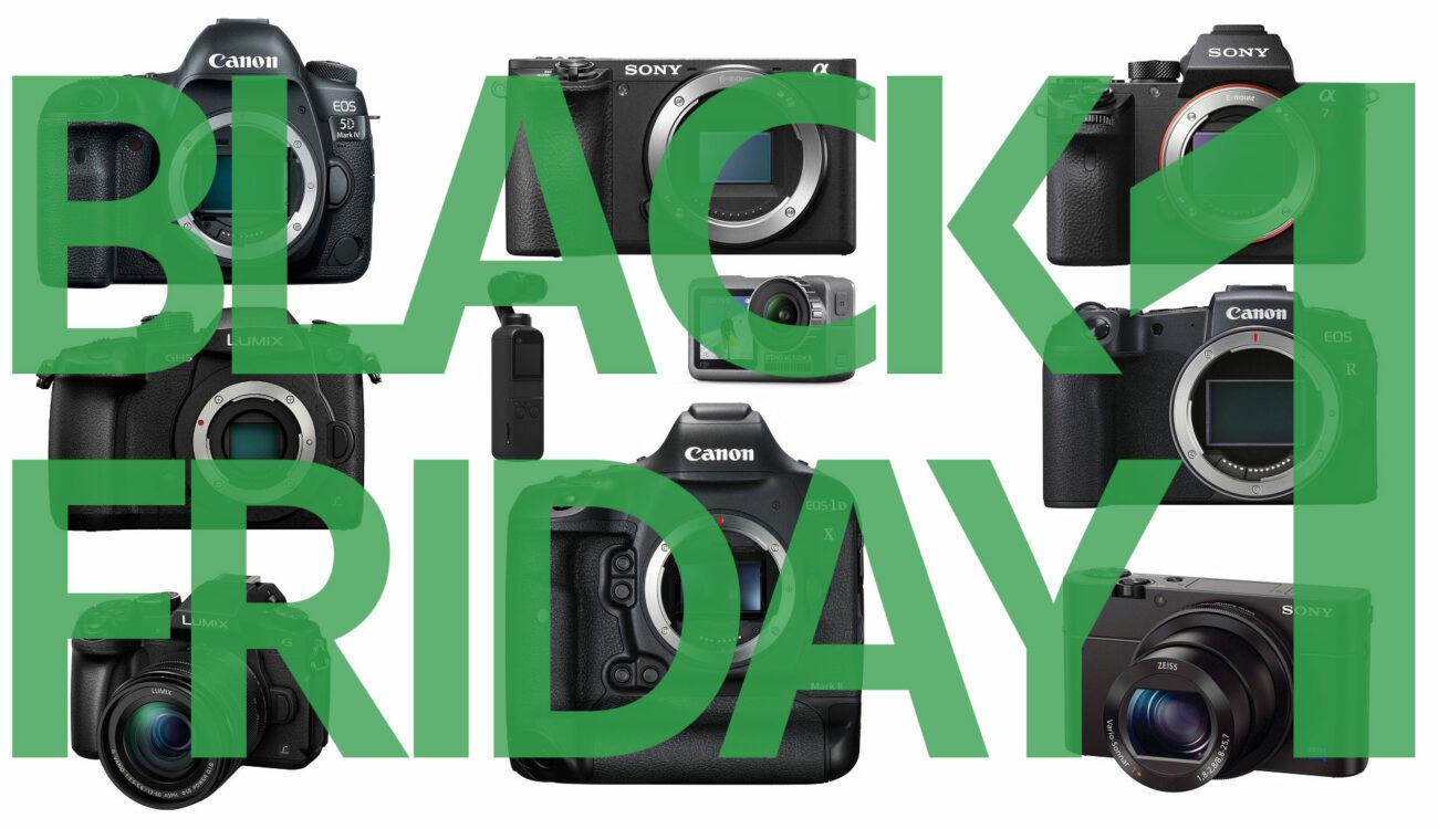 Top Black Friday Deals for Filmmakers - Part 1: Cameras, FilmConvert, MZed