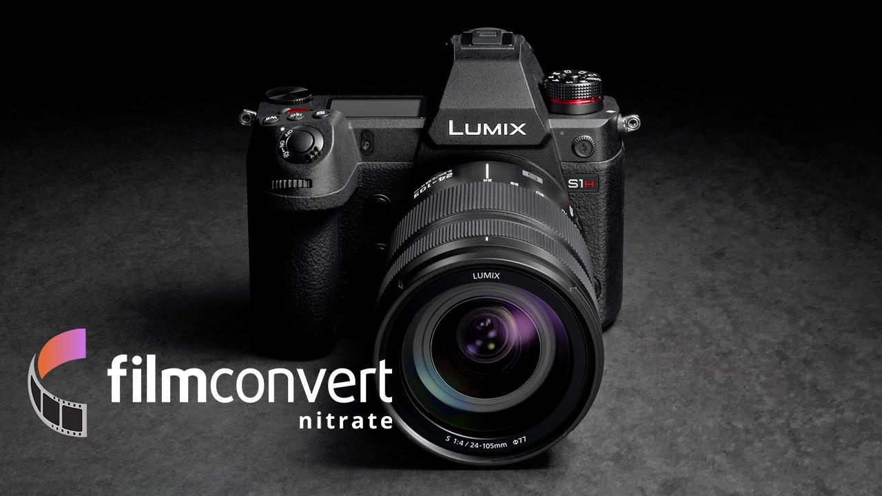 FilmConvertがパナソニックLUMIX S1/S1H用カメラパックをリリース