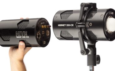 Hive Lighting Wasp 100-CX and Hornet 200-CX Lights Released