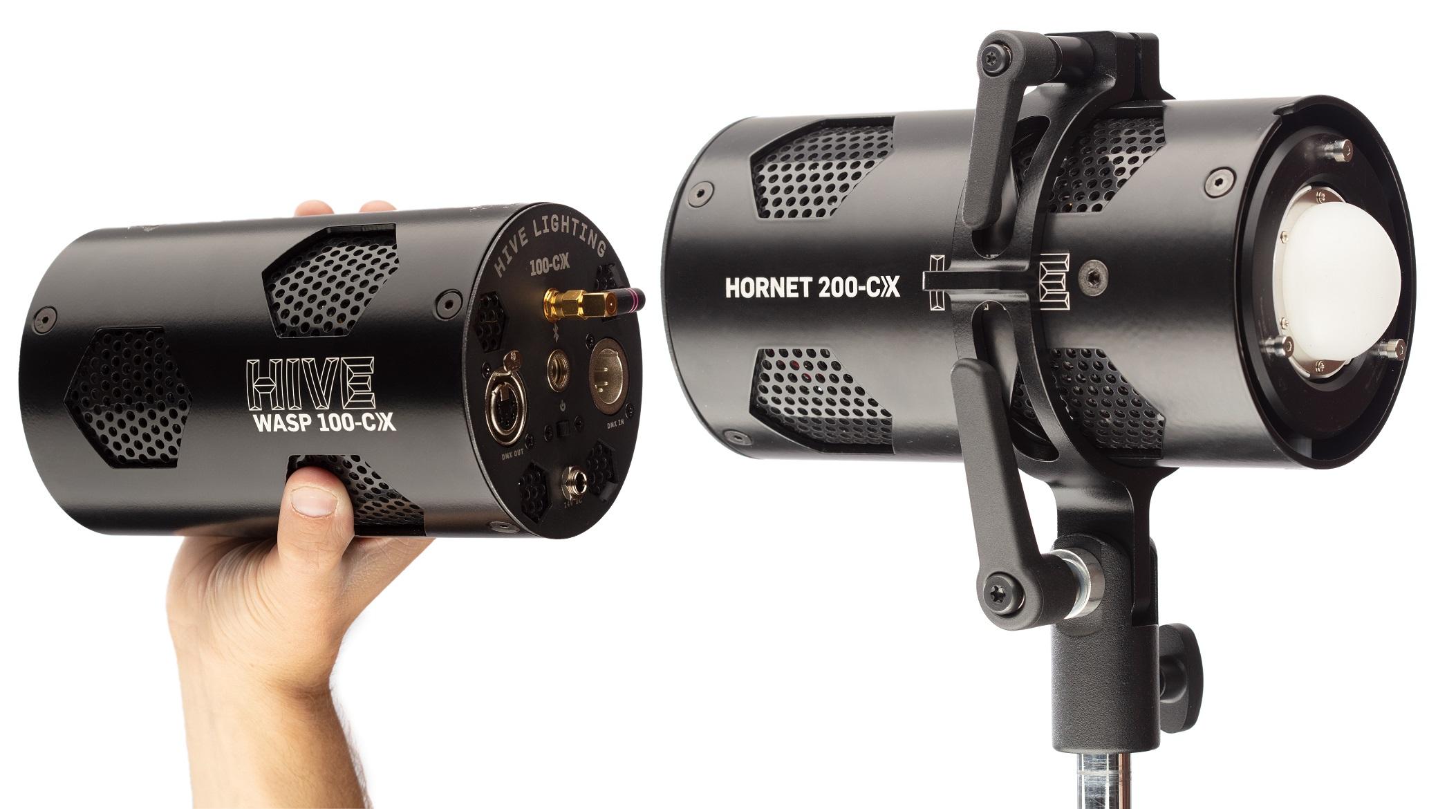 Hive Lighting lanza las luces Wasp 100-CX y Hornet 200-CX