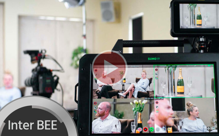 Atomos Sumo Update: Asynchronous Live Multicam Switching