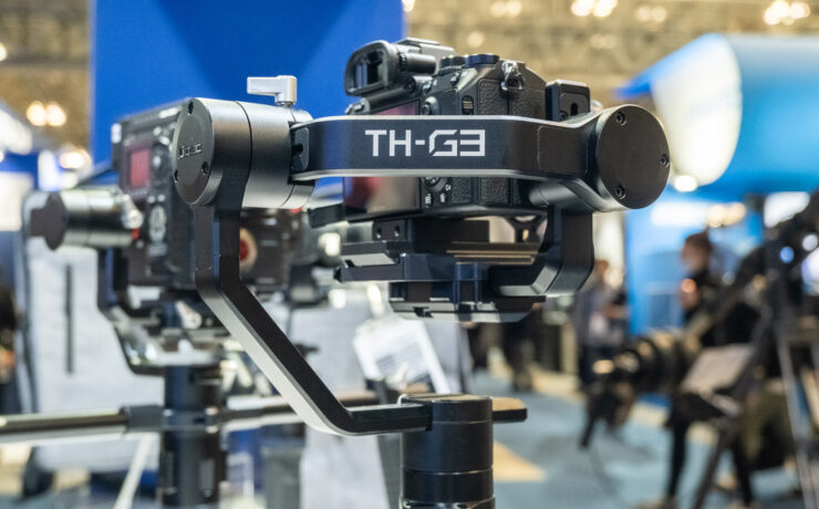 Libec TH-G3 Gimbal - Up to 3.6Kg Payload, Unlimited 360° Movement and Large Battery