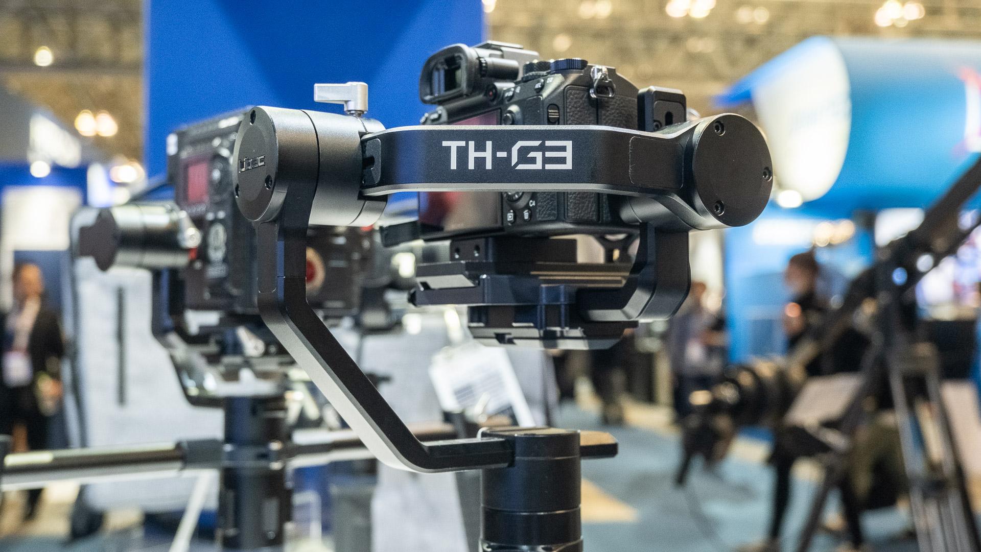 Nuevo Gimbal Libec TH-G3 - carga útil de hasta 3,6 kg, movimiento ilimitado de 360° y batería de alta capacidad