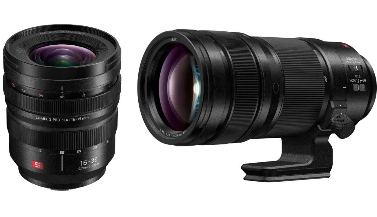 Panasonic LUMIX S PRO 16-35mm f/4 and 70-200mm f/2.8 O.I.S. Lenses - Coming Soon