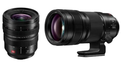 Panasonic LUMIX S PRO 16-35mm f/4 and 70-200mm f/2.8 O.I.S. Lenses - Coming Soon