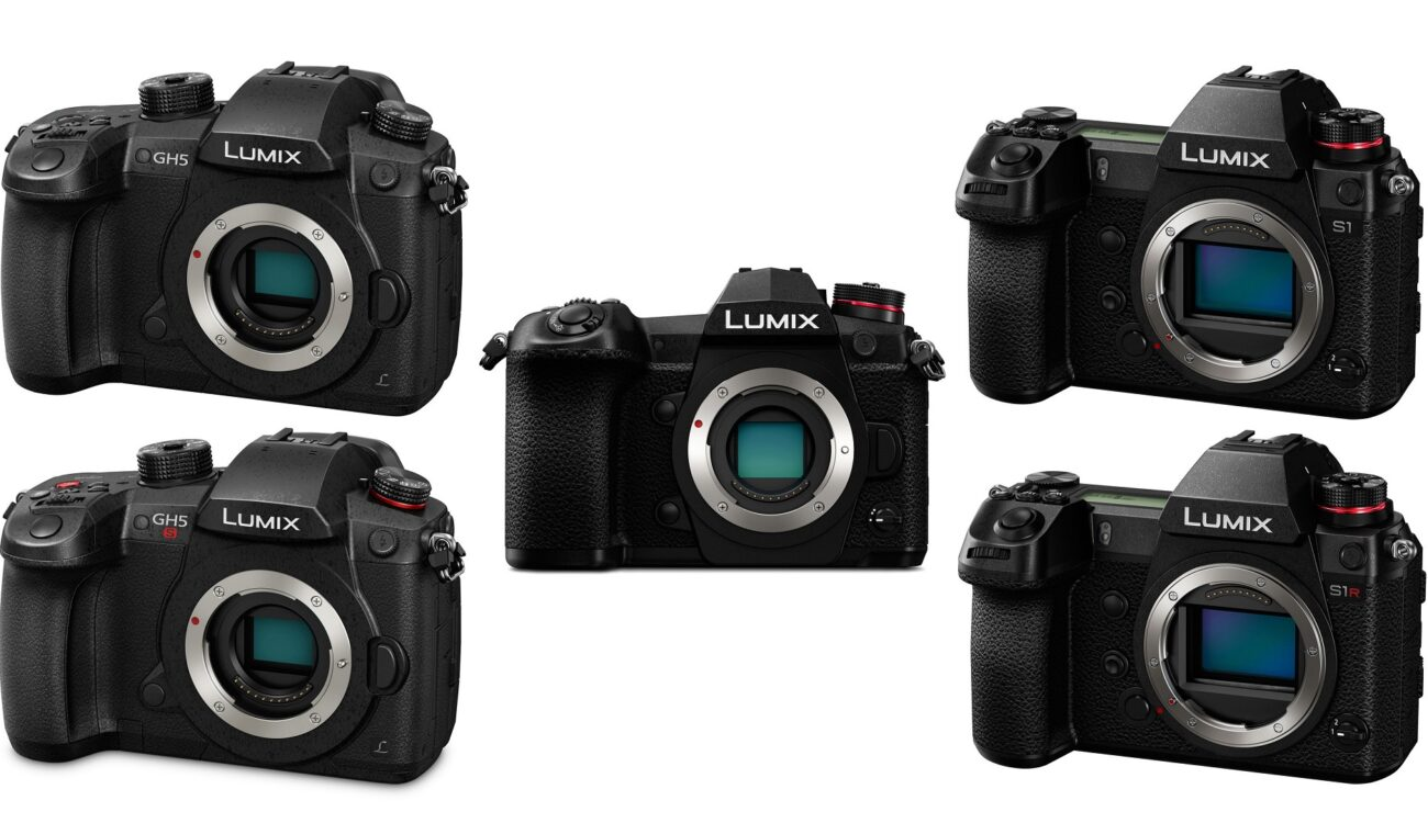 Panasonic LUMIX Firmware Update - G9 10-Bit Video, S1/S1R CFexpress Support, GH5/S Improved AF