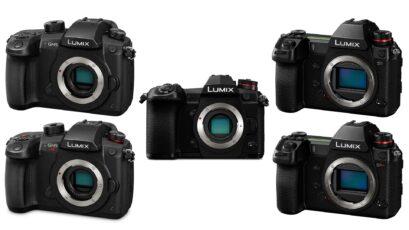 Panasonic LUMIX Firmware Update - G9 10-Bit Video, S1/S1R CFexpress Support, GH5/S Improved AF
