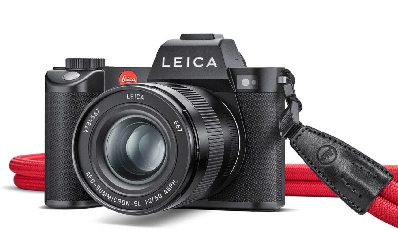 Leica SL2 - 47MP Full-Frame Sensor with 5K/30P and 4K/60P 10-Bit Video Internally