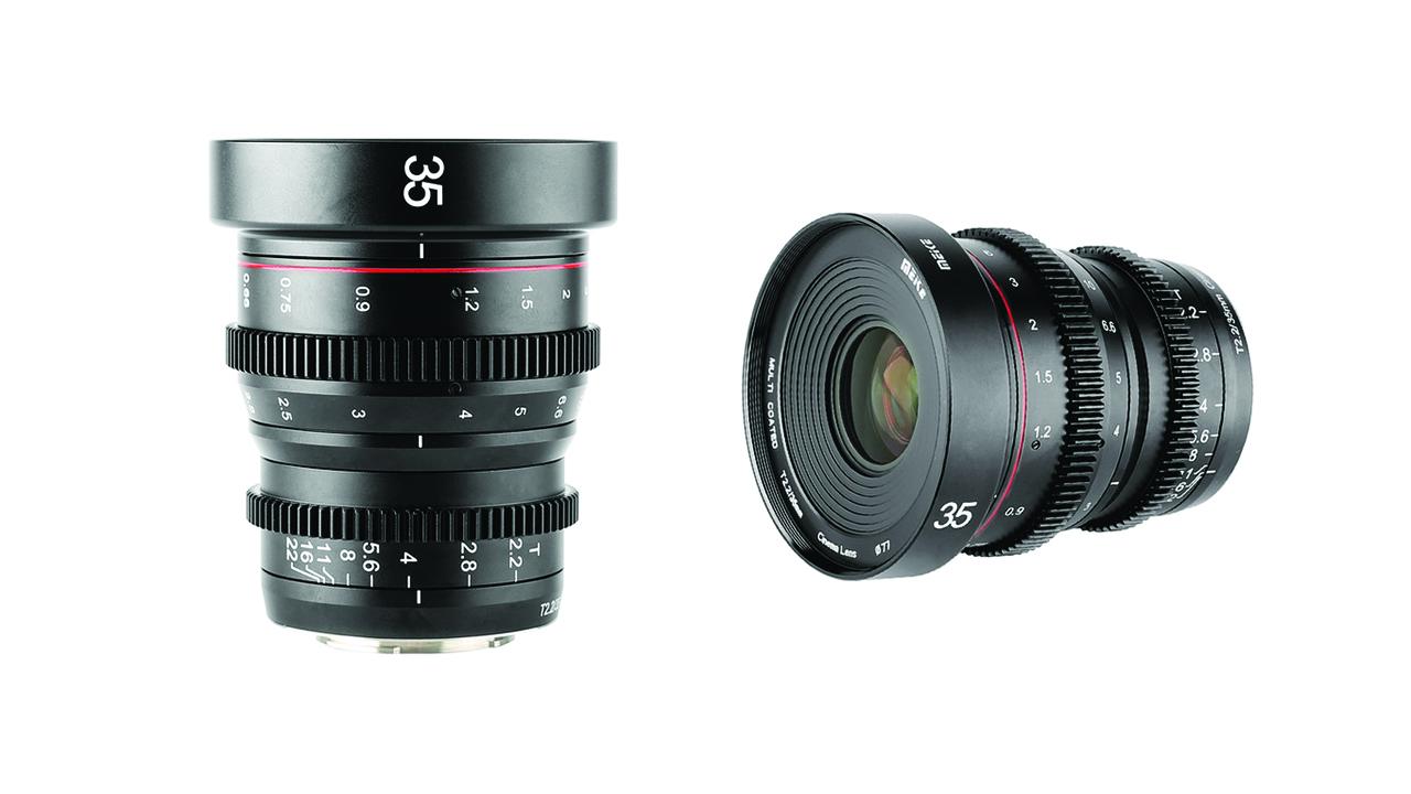 Meikeが35mm T/2.2シネレンズを発表 - コンパクトなミラーレスカメラ用シネレンズ