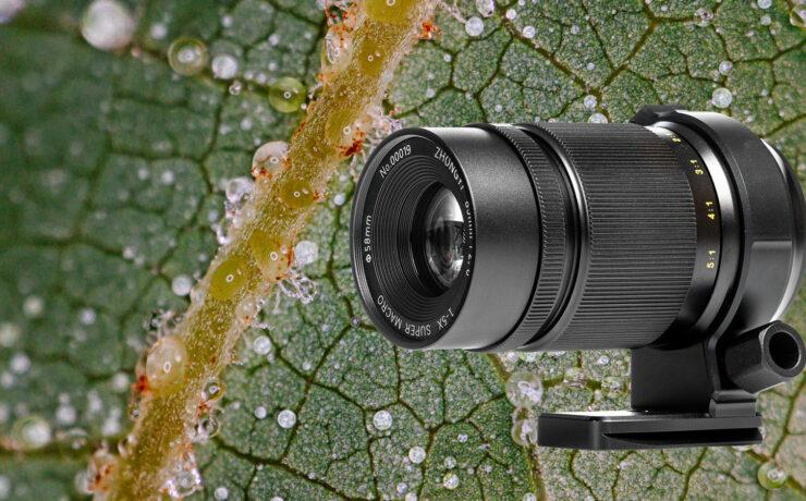 ZY Optics Mitakon 85mm f/2.8 1-5X Super Macro Lens Released - Extended Working Distances