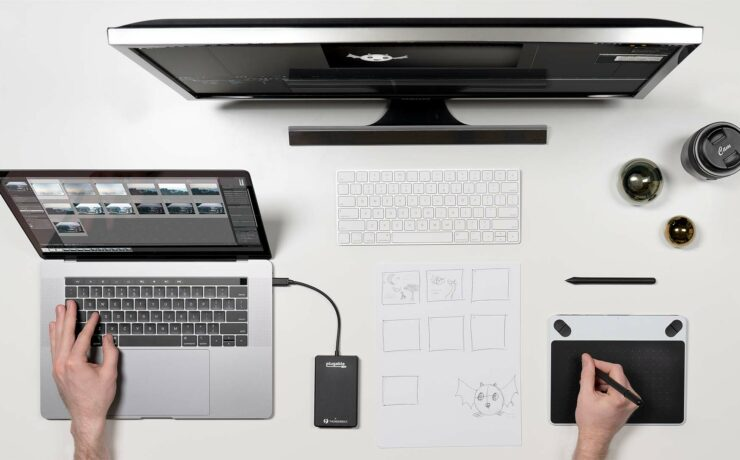 Plugable Thunderbolt 3 Drive - Blazing Fast Portable SSD for Filmmakers