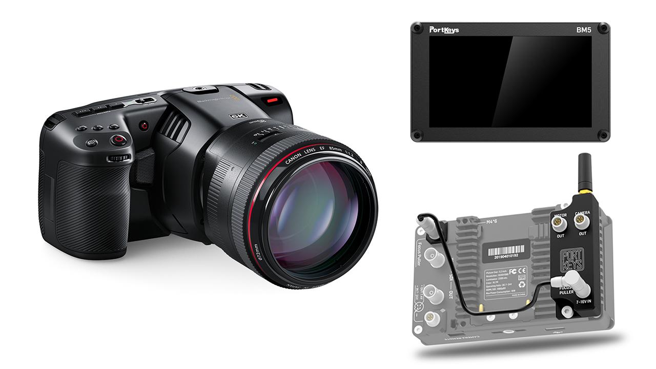 Anuncian módulo Bluetooth PortKeys para monitores BM5 - Control inalámbrico para cámaras BMPCC 4K/6K