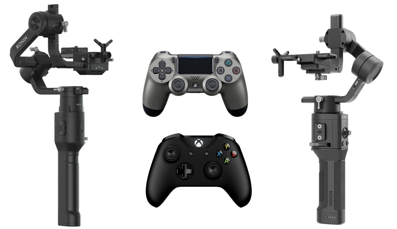 DJI Ronin-S and Ronin-SC Now Support PS4 and Xbox Remote Control