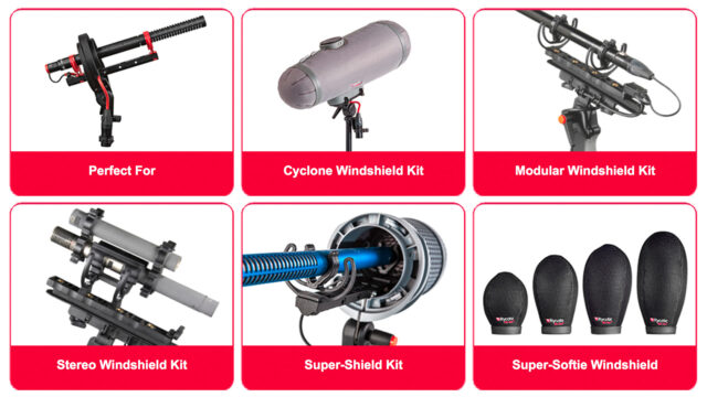 Rycote- Solutions (Examples) (Credits: Rycote)