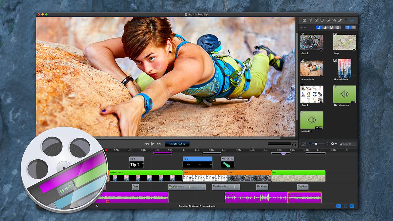 TelestreamがScreenFlow 9をリリース  - Mac上で複数の動画を同時記録