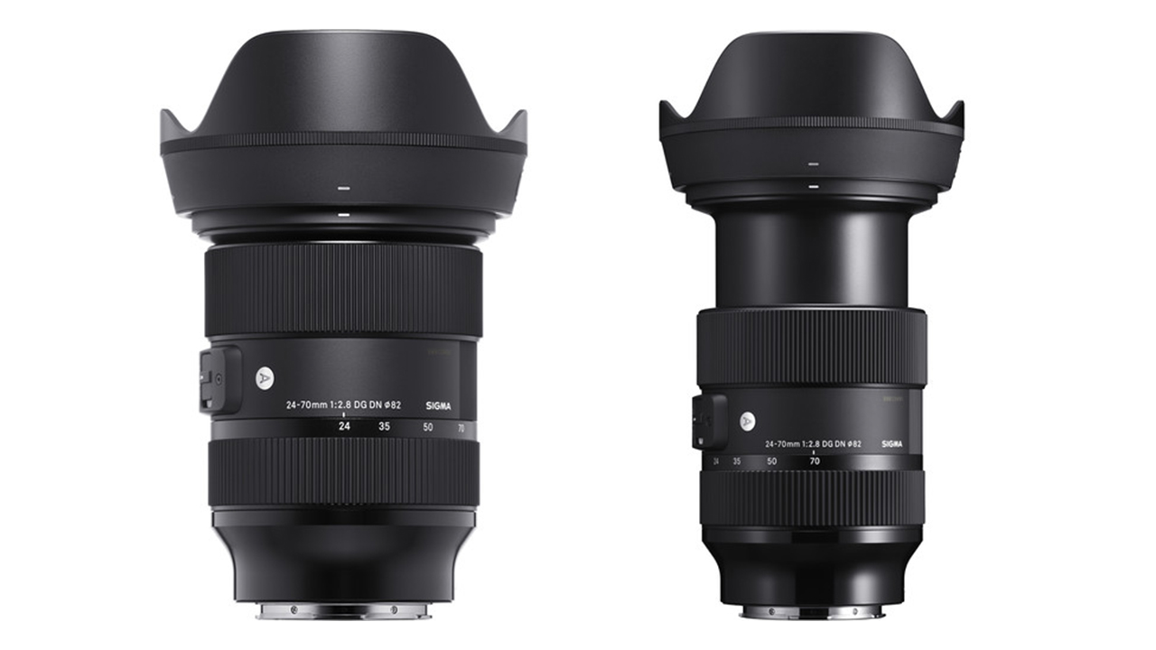 SIGMA 24-70mm F/2.8 Art Lens Announced - for Sony E-Mount and L-Mount Full-Frame Cameras