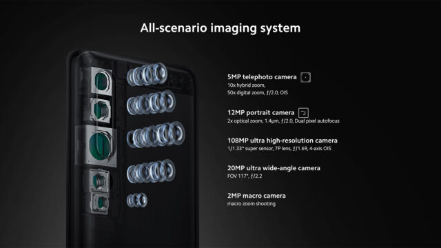 Xiaomi Mi Note 10 - All-Scenario Imaging System