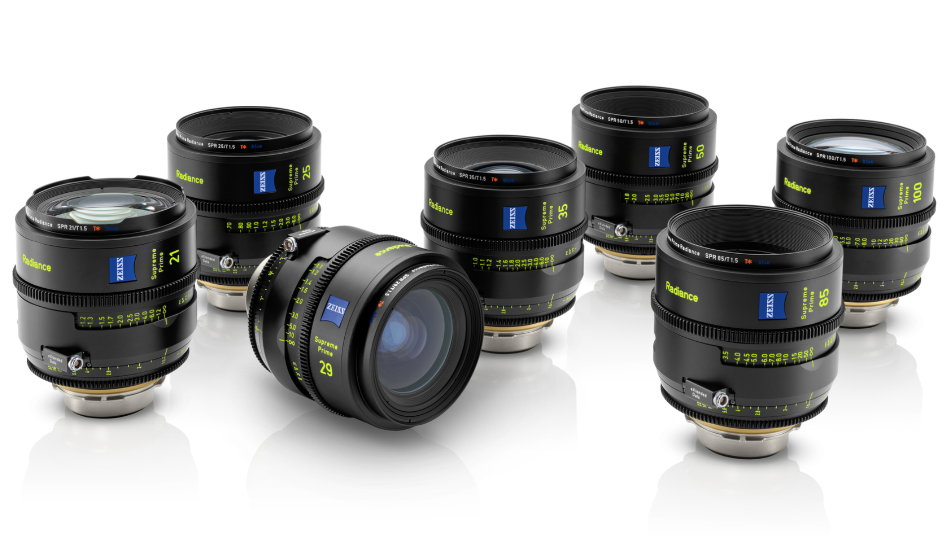 Los lentes ZEISS Supreme Prime Radiance le agregan más carácter a la línea Supreme