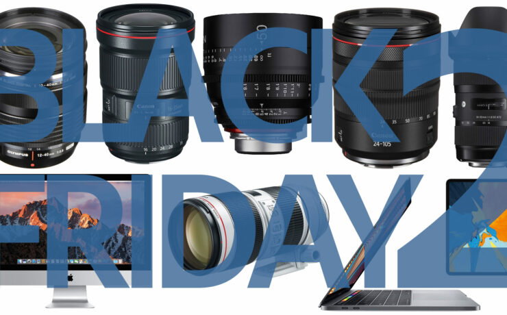 Top Black Friday Deals for Filmmakers - Part 2: Lenses, Computers, Laptops, Tablets