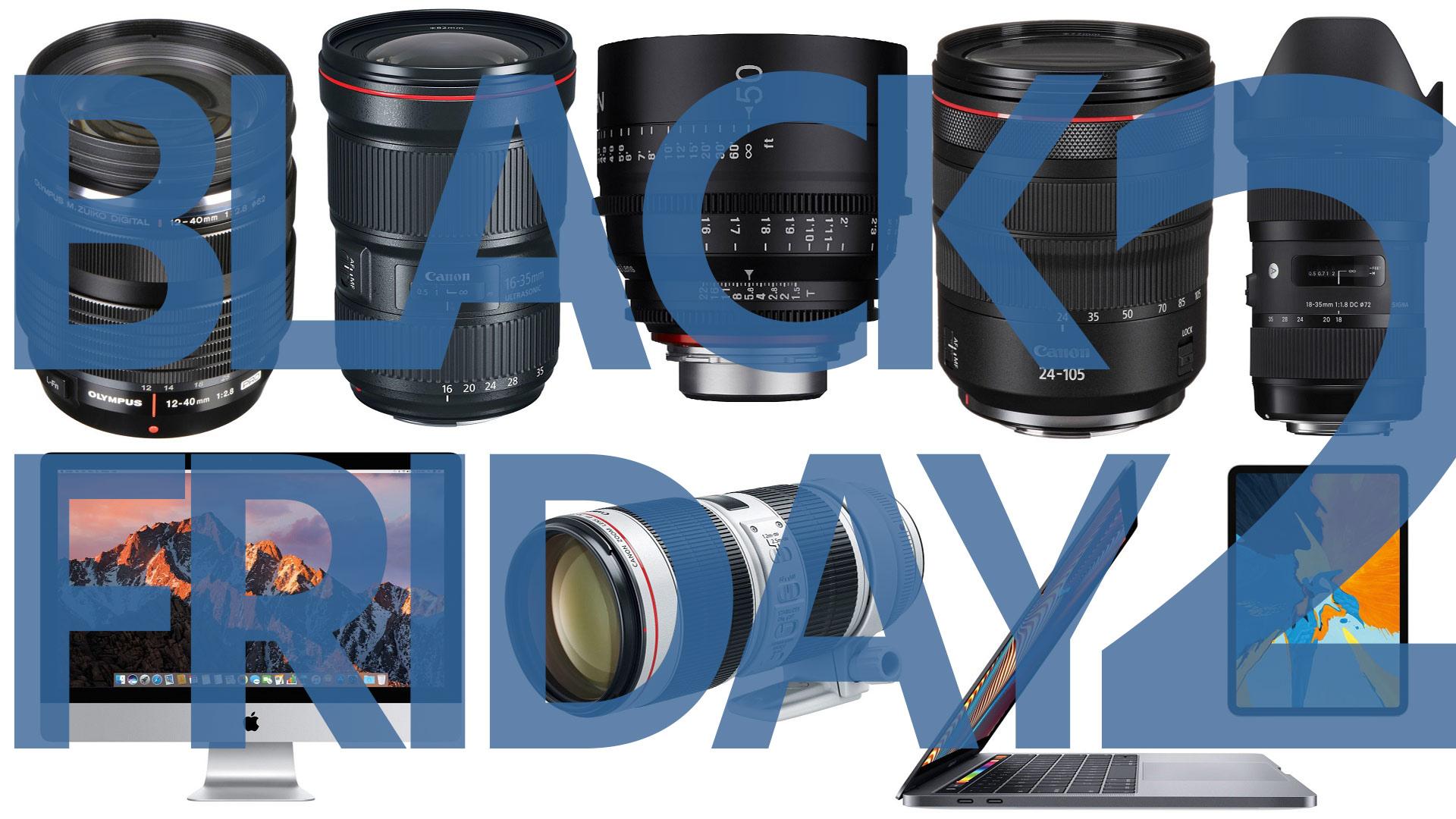 Las mejores ofertas de Black Friday para cineastas - Parte 2: lentes, computadoras, laptops, tablets
