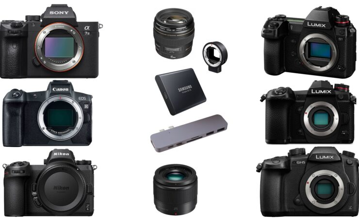 This Week's Top Deals for Filmmakers – Panasonic LUMIX G9, S1, GH5, Sony a7 III, Nikon Z 6 and More