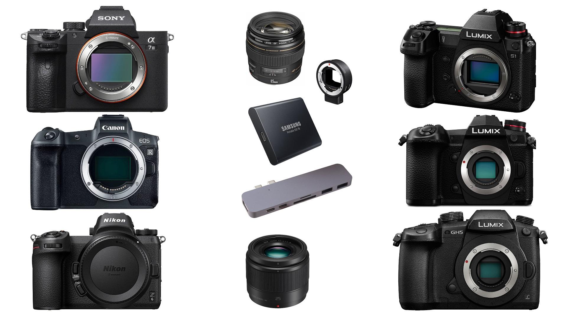 Las mejores ofertas de esta semana para cineastas - Panasonic LUMIX G9, S1, GH5, Sony a7 III, Nikon Z 6 y más