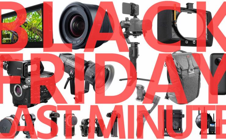 Last Minute Top Black Friday Deals for Filmmakers