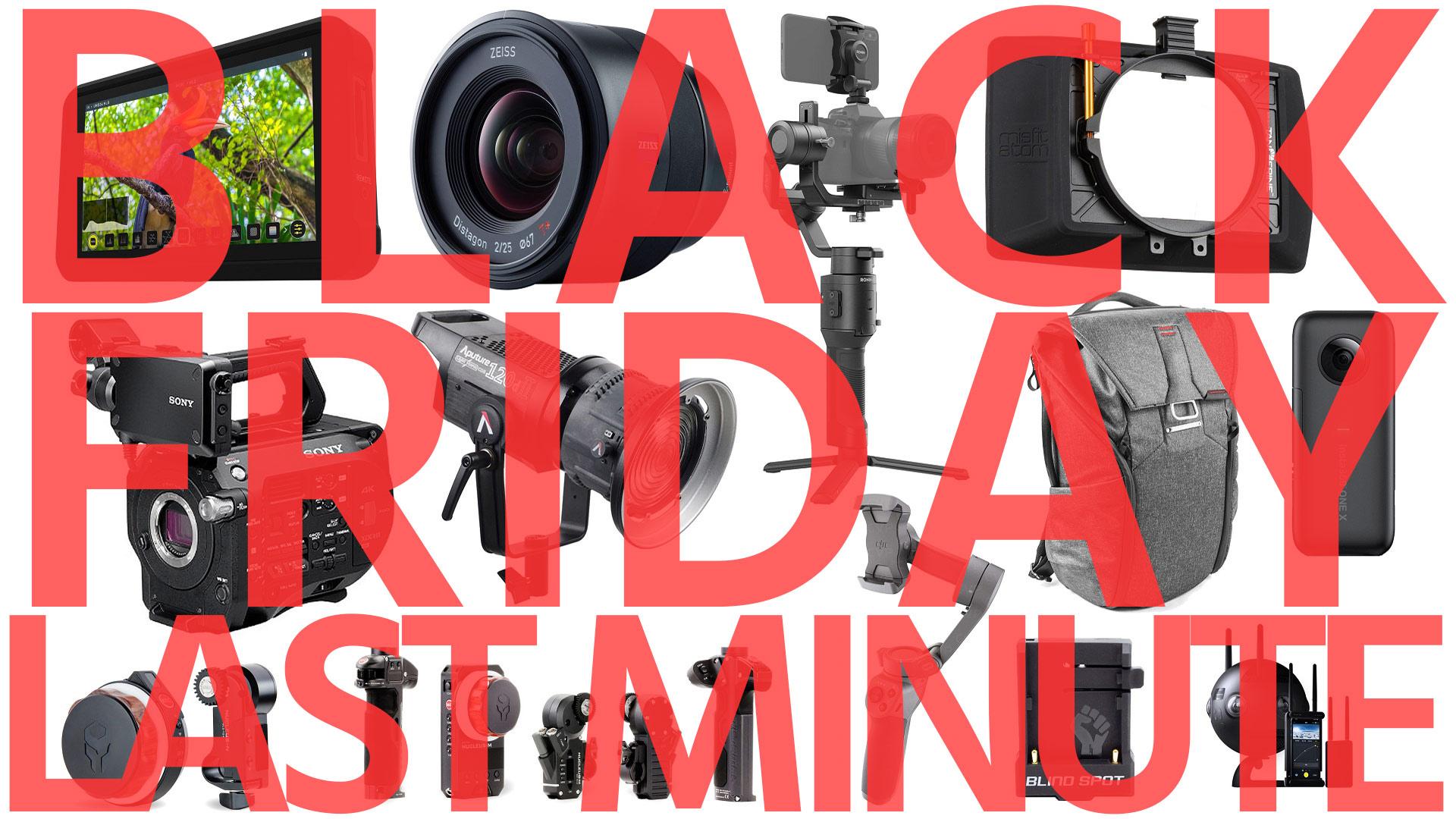 Ofertas de Black Friday para cineastas de último minuto