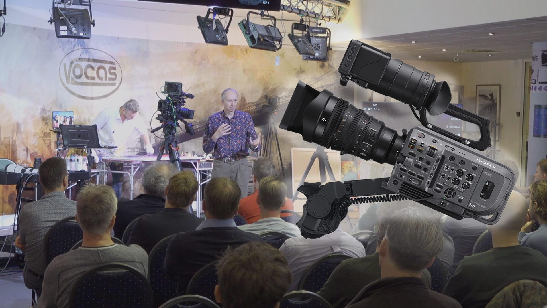 Tutorial gratuito de la Sony FX9, 3.5 horas de duración, con Alister Chapman