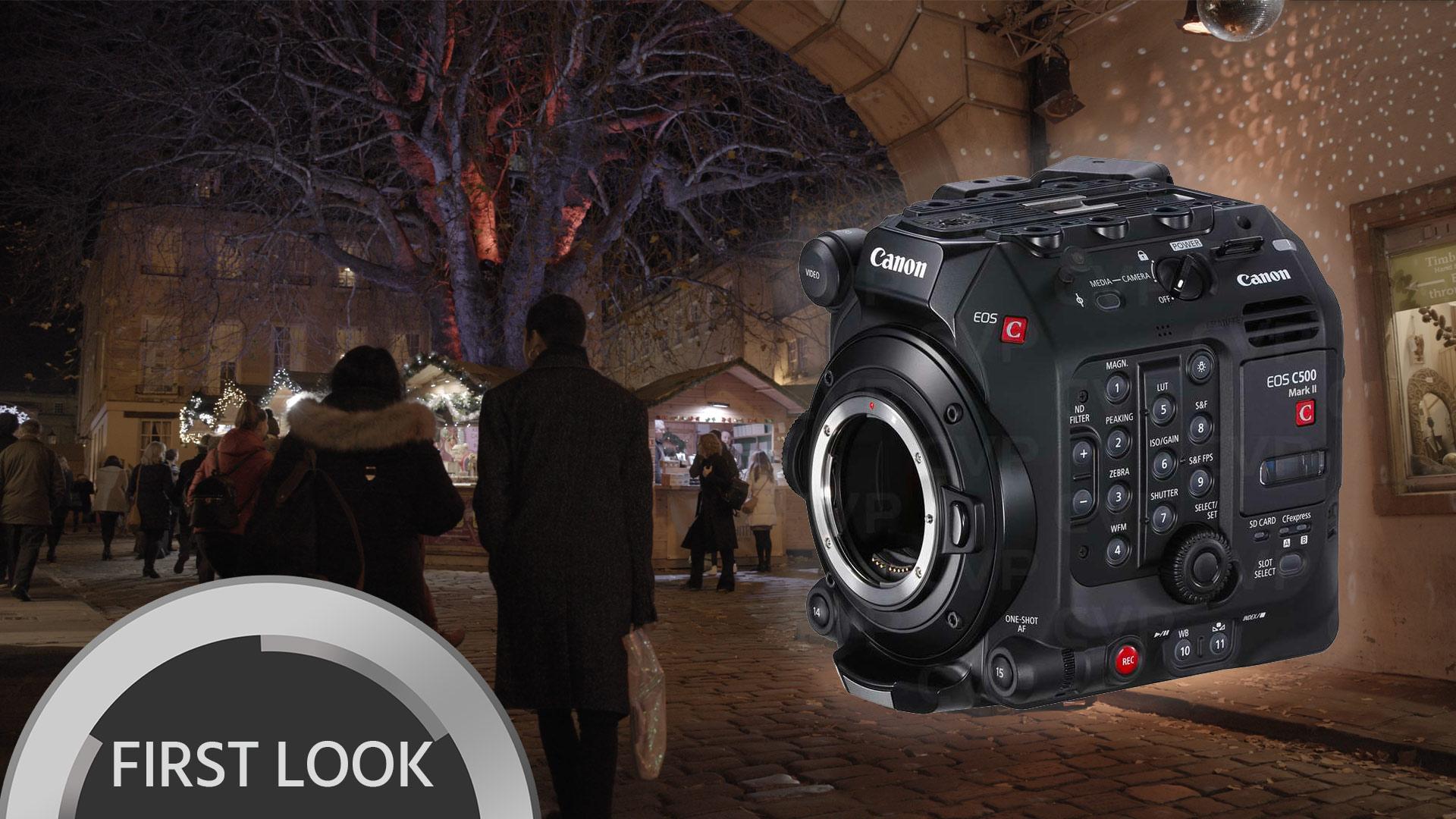 Prueba de poca luz con la Canon C500 Mark II y clips RAW 6K para descargar