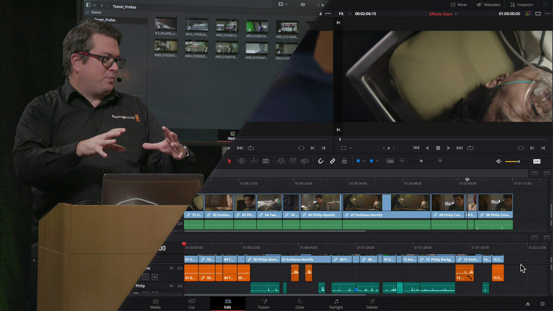 Blackmagic Design Davinci Resolve 16 Workshop With Simon Hall Basics Of Editing Cined