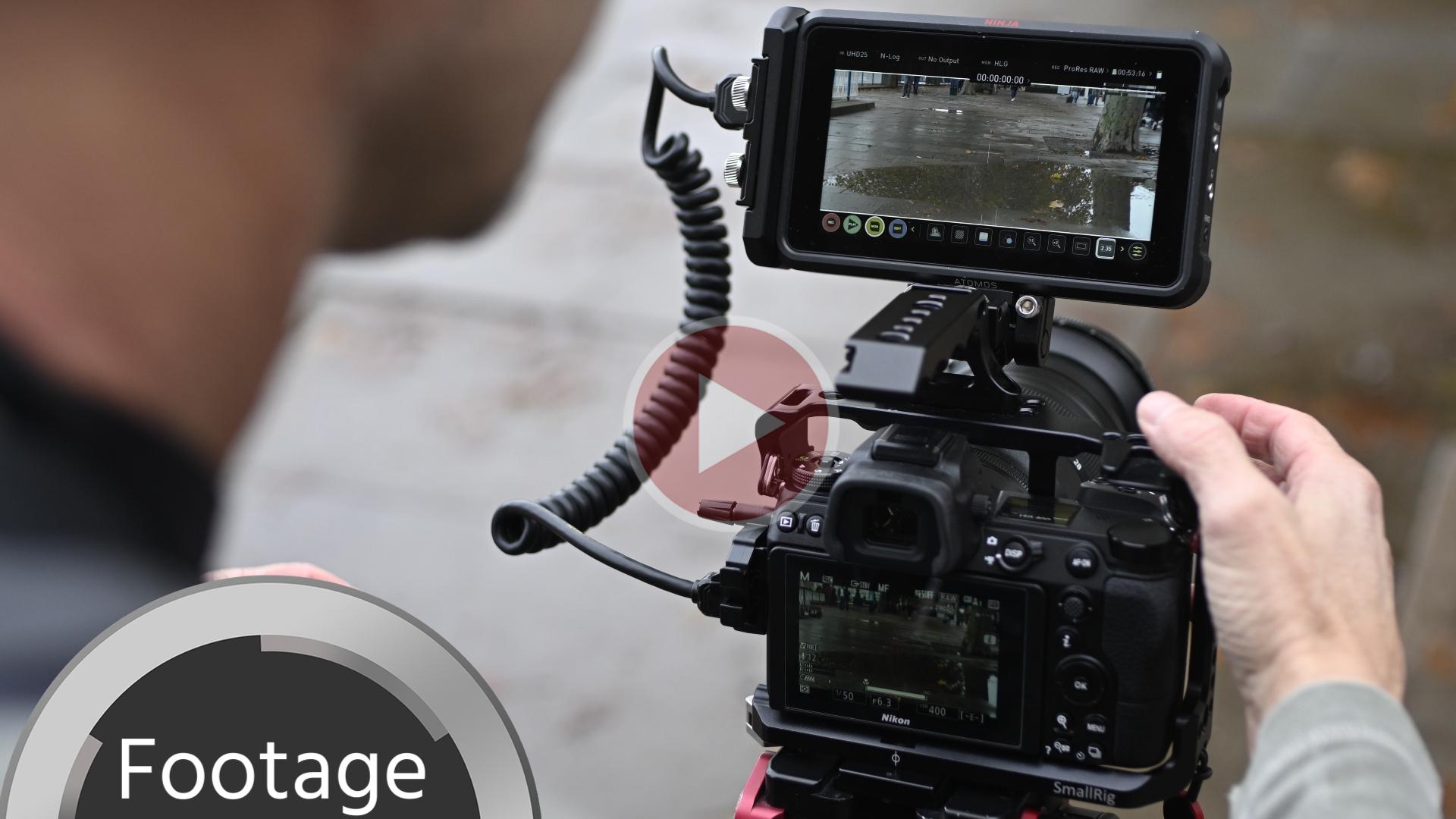 Opción de grabación en ProRes RAW con la Nikon Z 6 y el Atomos Ninja V - Primera impresión