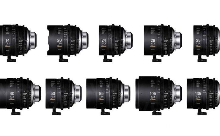 SIGMA Classic Prime 10 Lens Set Price Announced