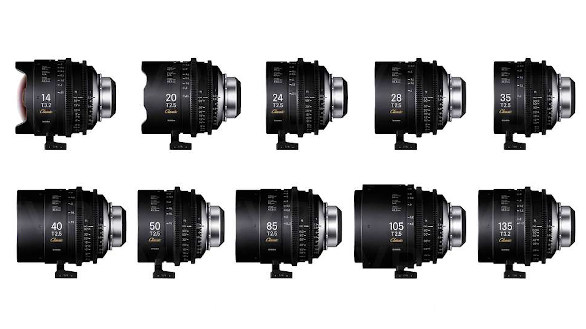 Anuncian el precio del set de lentes SIGMA Classic Prime 10