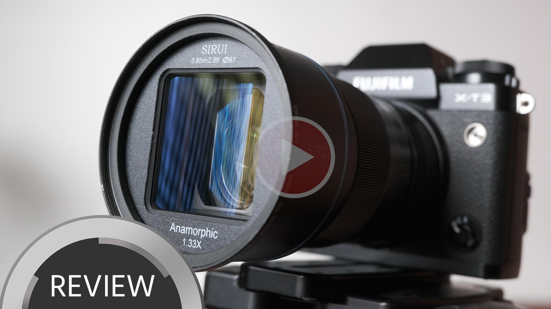 SIRUI 50mmアナモフィックレンズレビュー