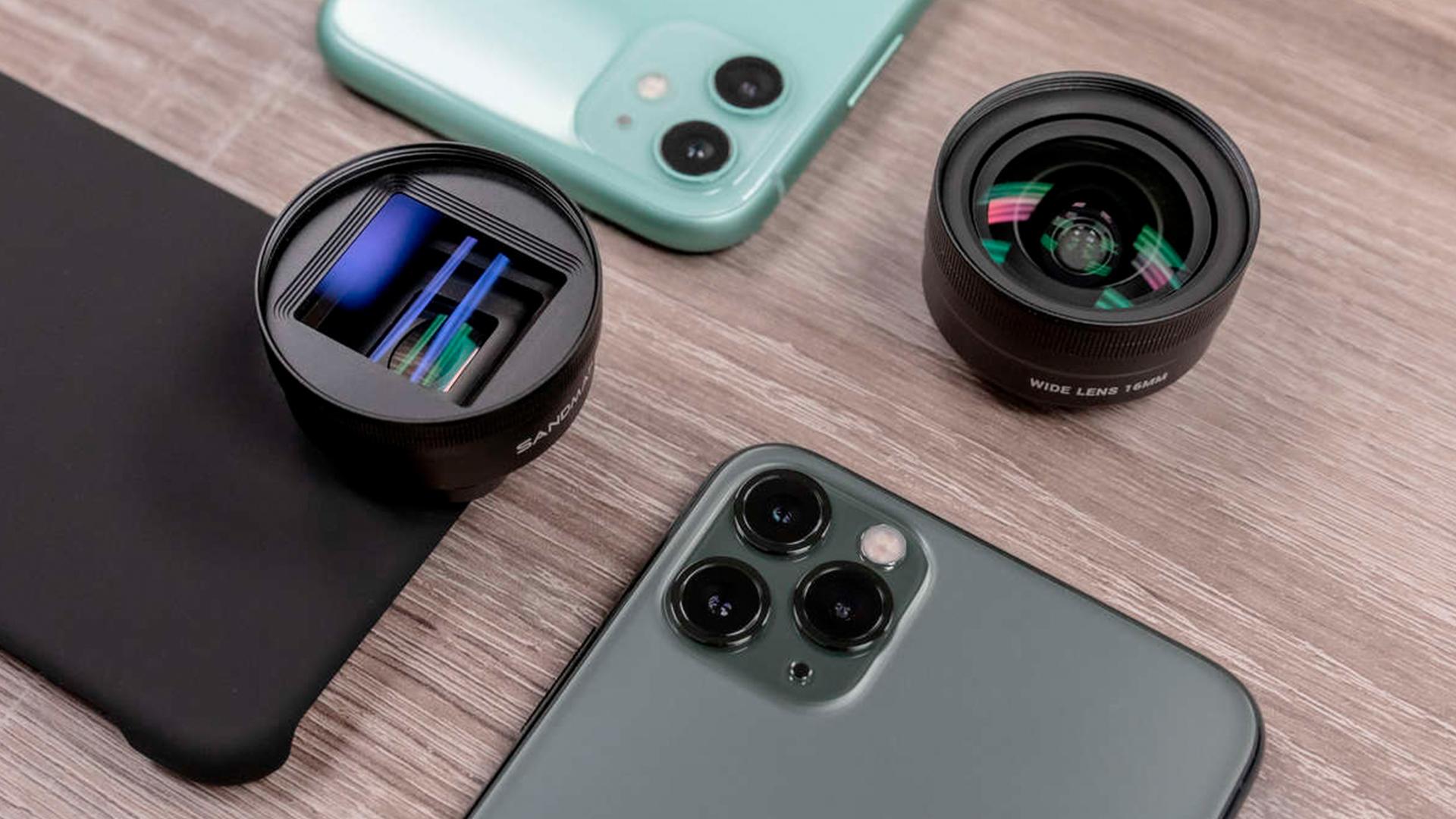 SANDMARCが新iPhone用レンズとフィルターを発売