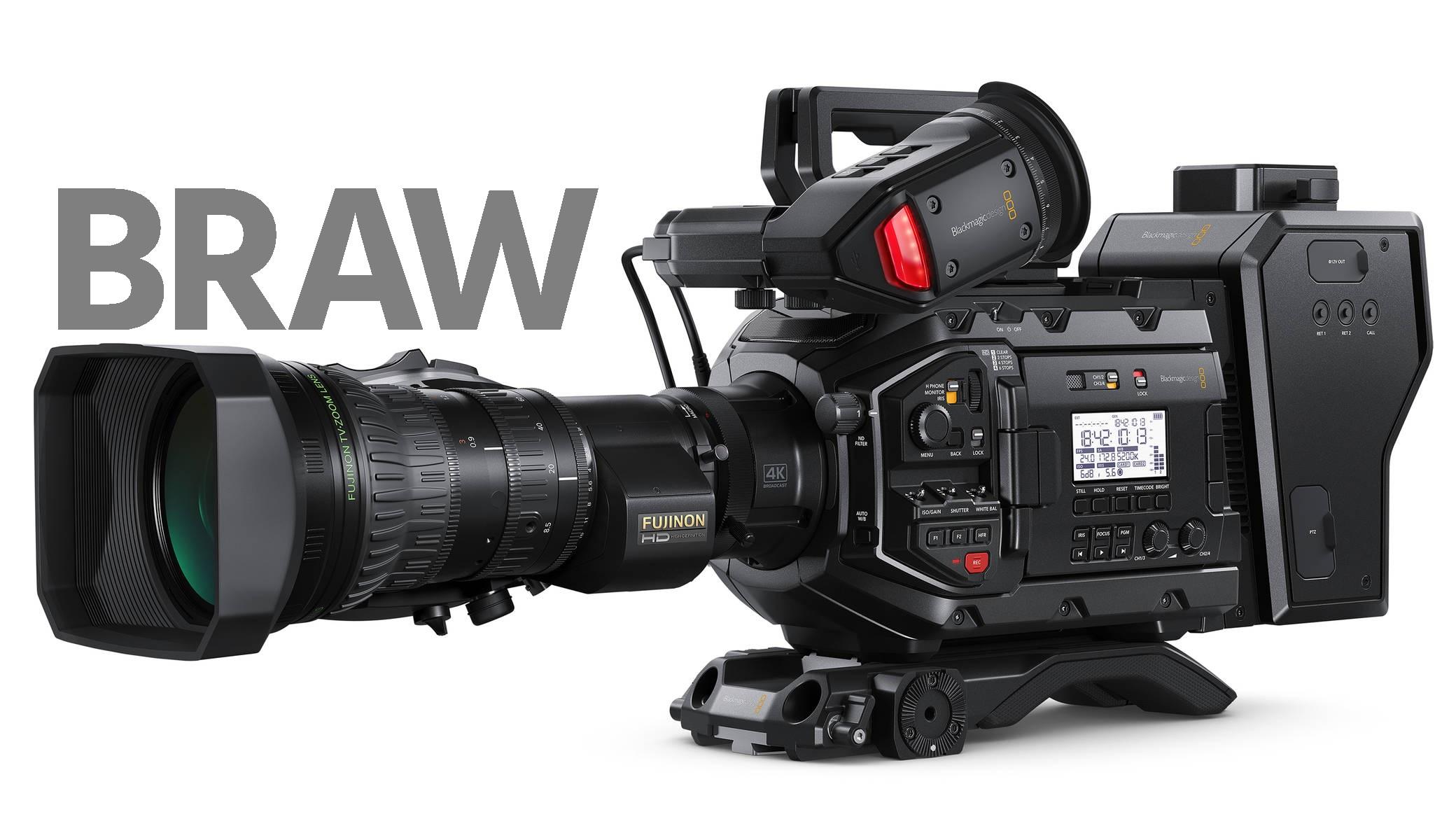 Blackmagic Design URSA Broadcast - Actualización para grabación RAW
