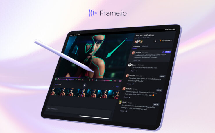 Frame.io iPad Version Announced