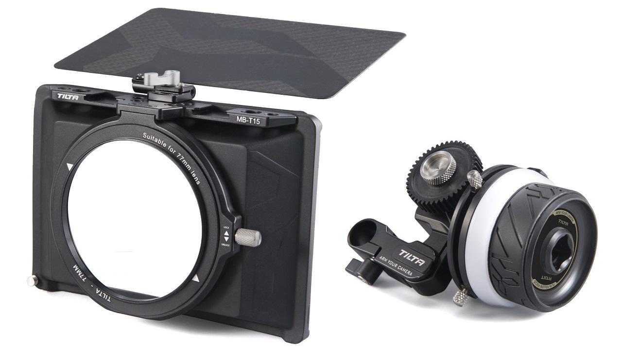 Tilta lanza los asequibles Tiltaing Mini Matte Box y Mini Follow Focus