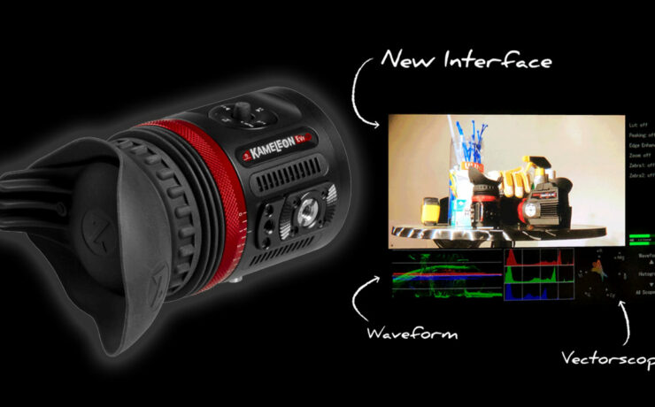 Zacuto Announces Kameleon EVF Pro - Now with Waveform